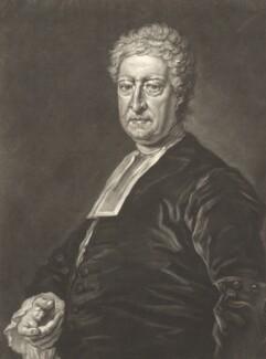 Matthew Tindal, by John Faber Jr, after  Bartholomew Dandridge - NPG D13198