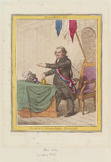 John Horne Tooke ('Président d'Administration Municipale'), by James Gillray, published by  Hannah Humphrey - NPG D12639