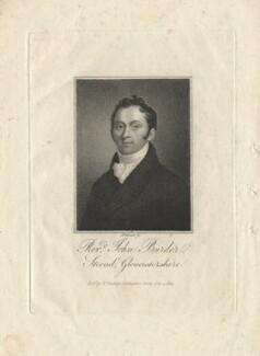 John Burder, by Samuel Freeman, after  Unknown artist - NPG D13207