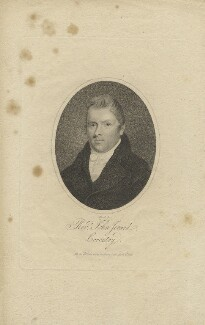 John Jerard, by Thomas Blood, published by  Williams - NPG D13213