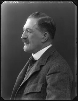 Sir Charles John Oakeley, 5th Bt, by Bassano Ltd - NPG x36688