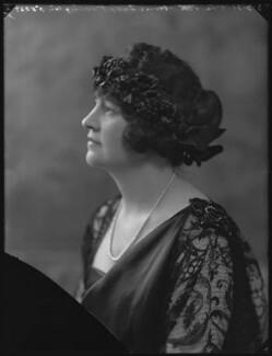 Vera Florence Annie Woodhouse (née Bousher), Lady Terrington, by Bassano Ltd - NPG x36691