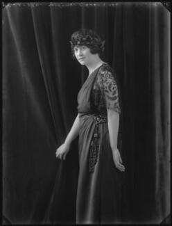Vera Florence Annie Woodhouse (née Bousher), Lady Terrington, by Bassano Ltd - NPG x36692