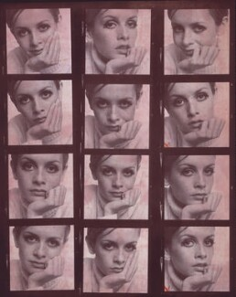 Twiggy, by Ronald Traeger, February 1967 - NPG x125453 - © estate of Ronald Traeger