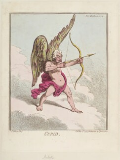 John Nicolls ('Cupid'), by James Gillray, published by  Hannah Humphrey, published 7 May 1799 - NPG D12689 - © National Portrait Gallery, London