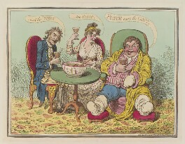 'Punch cures the gout, - the colic, - and the 'tisick', by James Gillray, published by  Hannah Humphrey, published 13 July 1799 - NPG  - © National Portrait Gallery, London