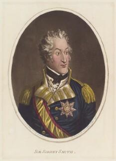 Sir William Sidney Smith ('Sir Sidney Smith'), by James Gillray, published by  Hannah Humphrey - NPG D12711