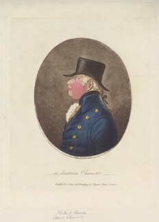 King William IV ('An illustrious character'), by James Gillray, published by  Hannah Humphrey - NPG D12718