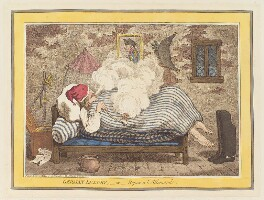 'German luxury, - or - repos a l'allemande', by James Gillray, published by  Hannah Humphrey - NPG D12721