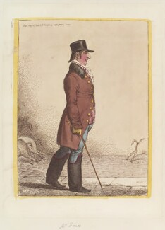 Jacob Franco, by James Gillray, published by  Hannah Humphrey - NPG D12737
