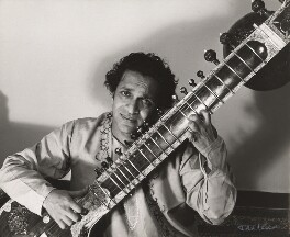 Ravi Shankar, by Ida Kar, 1960s - NPG x125458 - © National Portrait Gallery, London