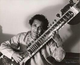 Ravi Shankar, by Ida Kar, 1960s - NPG x125458 - © National Portrait Gallery, London