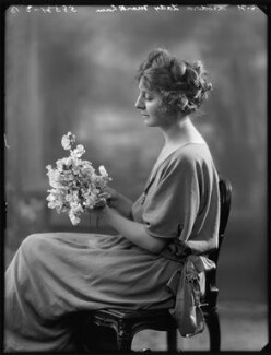 Theodora Chevallier Knel (née Gervers), by Bassano Ltd - NPG x121043