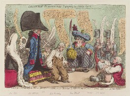 'Lilliputian-substitutes, equiping for public service', by James Gillray, published by  Hannah Humphrey, published 28 May 1801 - NPG D12763 - © National Portrait Gallery, London