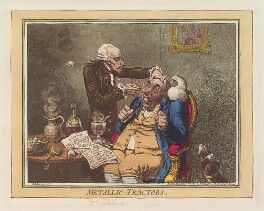 'Metallic-tractors', by James Gillray, published by  Hannah Humphrey - NPG D12770