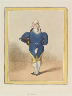 King George IV, by James Gillray, published by  Hannah Humphrey - NPG D12783