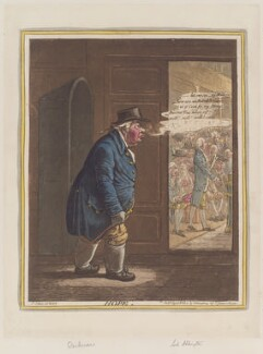 'Hope' (William Dickinson; Robert Jenkinson, 2nd Earl of Liverpool; Henry Addington, 1st Viscount Sidmouth), by James Gillray, published by  Hannah Humphrey, published 8 April 1802 - NPG D12788 - © National Portrait Gallery, London