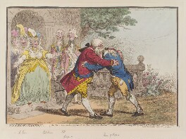 'The reconciliation', by James Gillray, published by  Hannah Humphrey - NPG D12833