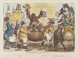 'The triumph of Quassia', by James Gillray, published by  Hannah Humphrey, published 10 June 1806 - NPG D12868 - © National Portrait Gallery, London