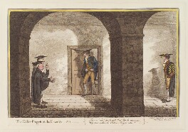 'The rake's progress at the university, no 1', by James Gillray, published by  Hannah Humphrey, published 22 October 1806 - NPG  - © National Portrait Gallery, London