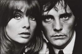 Jean Shrimpton; Terence Stamp, by Terry O'Neill, 1964 - NPG  - © Iconic IMages/Terry O'Neill
