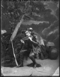 Pauline Chase as Peter Pan in 'Peter Pan', by Bassano Ltd - NPG x101155