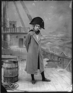 Pauline Chase as Peter Pan in 'Peter Pan', by Bassano Ltd - NPG x101156