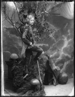 Pauline Chase as Peter Pan in 'Peter Pan', by Bassano Ltd - NPG x101158