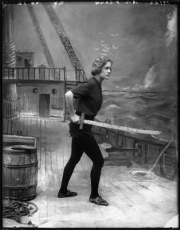 Pauline Chase as Peter Pan in 'Peter Pan', by Bassano Ltd, 1907 - NPG x101159 - © National Portrait Gallery, London