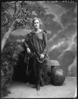 Pauline Chase as Peter Pan in 'Peter Pan', by Bassano Ltd - NPG x101160