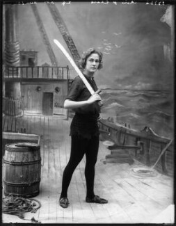 Pauline Chase as Peter Pan in 'Peter Pan', by Bassano Ltd - NPG x101161