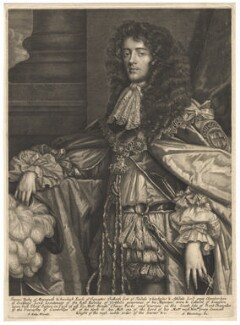 James Scott, Duke of Monmouth and Buccleuch, published by Abraham Blooteling (Bloteling), after  Sir Peter Lely - NPG D11989