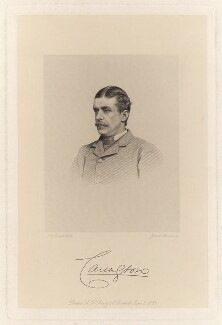 Charles Robert Wynn-Carington, Marquess of Lincolnshire, by Joseph Brown, after a photograph by  John Jabez Edwin Mayall - NPG D13232