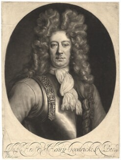Sir Henry Goodricke, 2nd Bt, by John Smith, after  Thomas Hill, 1695 - NPG  - © National Portrait Gallery, London