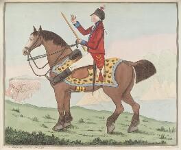Sir David Dundas ('A portrait'), by James Gillray, published by  Hannah Humphrey - NPG D12919