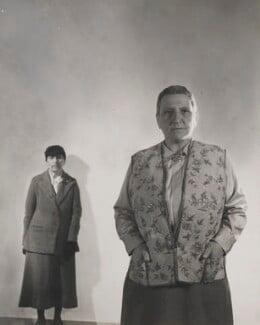 Alice B. Toklas; Gertrude Stein, by Cecil Beaton - NPG x40370