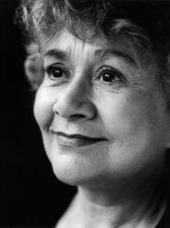 Joan Plowright, by Carolyn Djanogly - NPG x87747