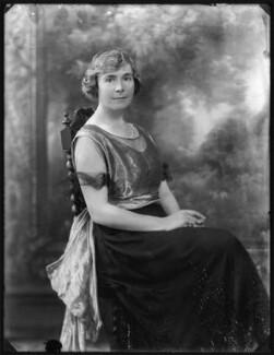 Mabel Elizabeth (née Sprot), Lady Stirling, by Bassano Ltd - NPG x121181