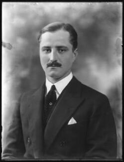 William Humble Eric Ward, 3rd Earl of Dudley, by Bassano Ltd - NPG x121196