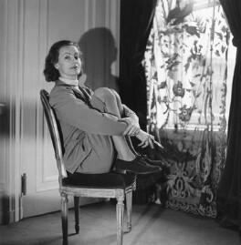 Greta Garbo, by Cecil Beaton - NPG x40114