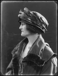 Ermine Mary Katherine Murray (née Madocks), Viscountess Elibank, by Bassano Ltd - NPG x121207