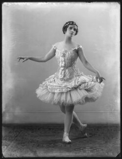 Lubov Egorova, Princess Nikita Troubetska, by Bassano Ltd - NPG x121227