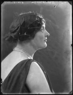Muriel Smythe (née Ker-Douglas), Lady Bowden, by Bassano Ltd - NPG x121231