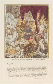 'The life of William Cobbett - written by himself. No 8', by James Gillray, published by  Hannah Humphrey - NPG D12931