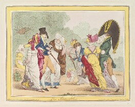 'Les invisibles', by James Gillray, published by  Hannah Humphrey - NPG D12935