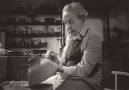 Dame Lucie Rie, by Terry Day - NPG x125485