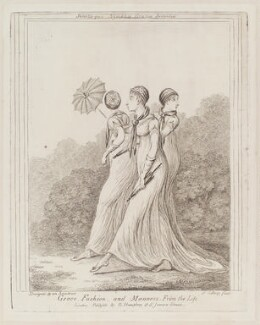 'Grace, fashion, and manners. From the life', by James Gillray, published by  George Humphrey - NPG D12949