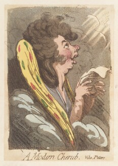 'A modern cherub', by James Gillray, published by  Hannah Humphrey - NPG D12957