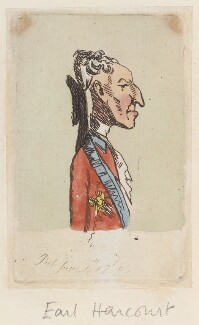 Francis Seymour-Conway, 1st Marquess of Hertford, probably by James Gillray - NPG D12966