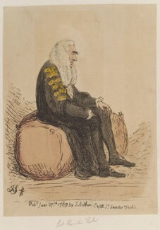 Edward Thurlow, Baron Thurlow, by James Gillray, published by  James Aitken - NPG D12971